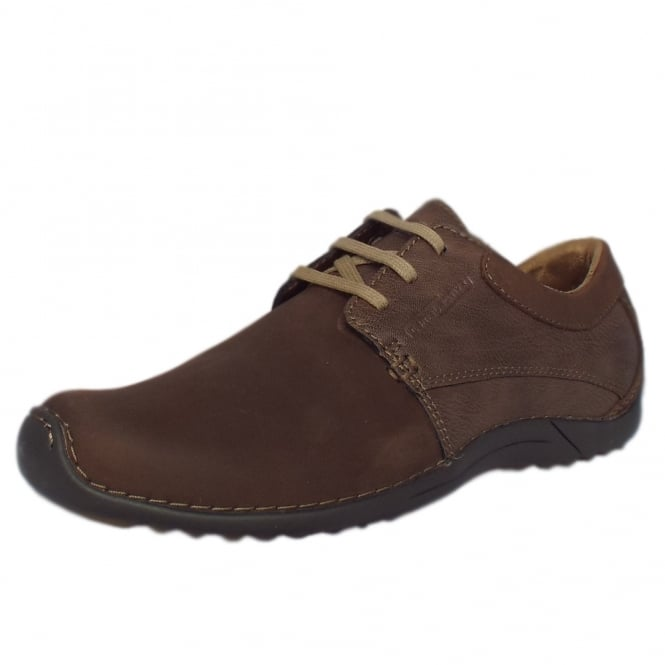 Camel Active Bourne Manila Men's Nubuck Casual Shoes in Espresso