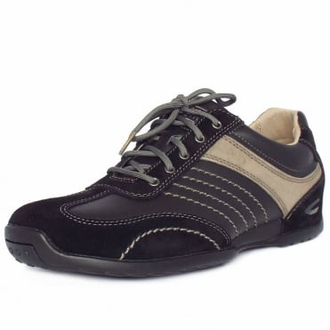Corsi Men's Casual Trainer in Black/Grey