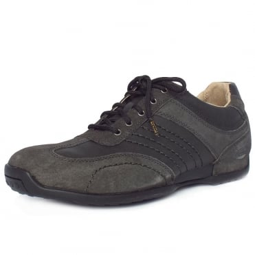 Camel Active Corsi Men's Casual Trainer in Grey Charcoal