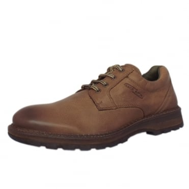 District Craft GTX Men's Gore-tex Lining Shoes in Bison Leather