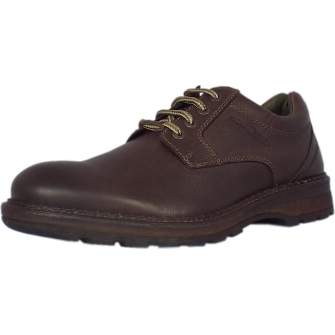 District Craft GTX Men's Gore-tex Lining Shoes in Mocca Leather