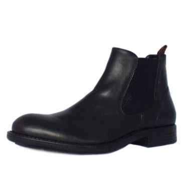 Houston Taylor Men's Boots in Black Leather