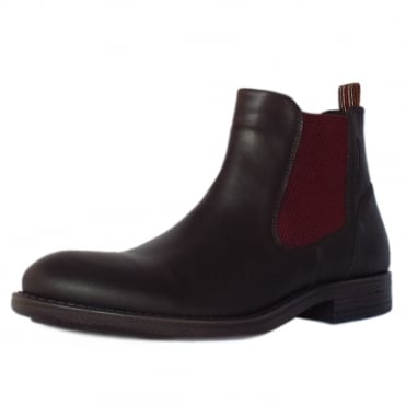 Houston Taylor Men's Boots in Mocca Leather