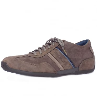 Romah Space Men's Casual Lace Up Shoes in Brown