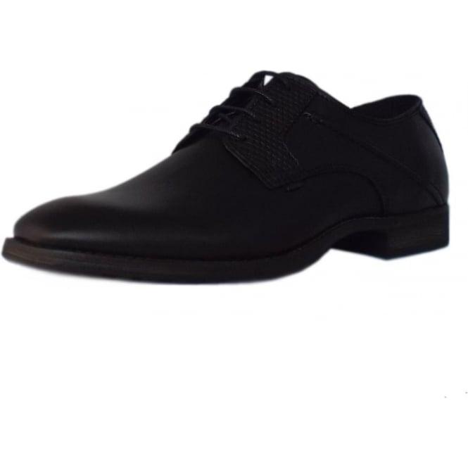 79d0b39511d8 Utah Como Men  039 s Smart Shoes in Black Leather
