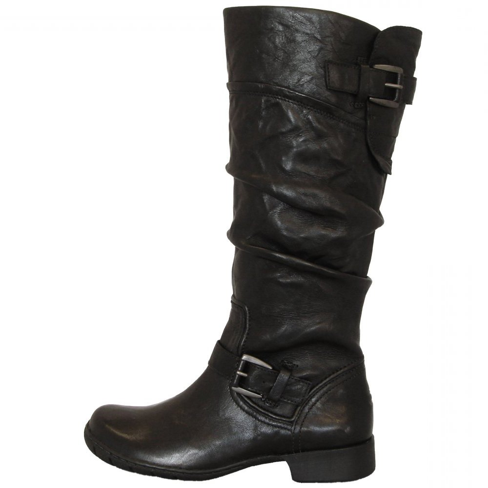 Camel Active Vegas Long Boots In Black Leather Buy