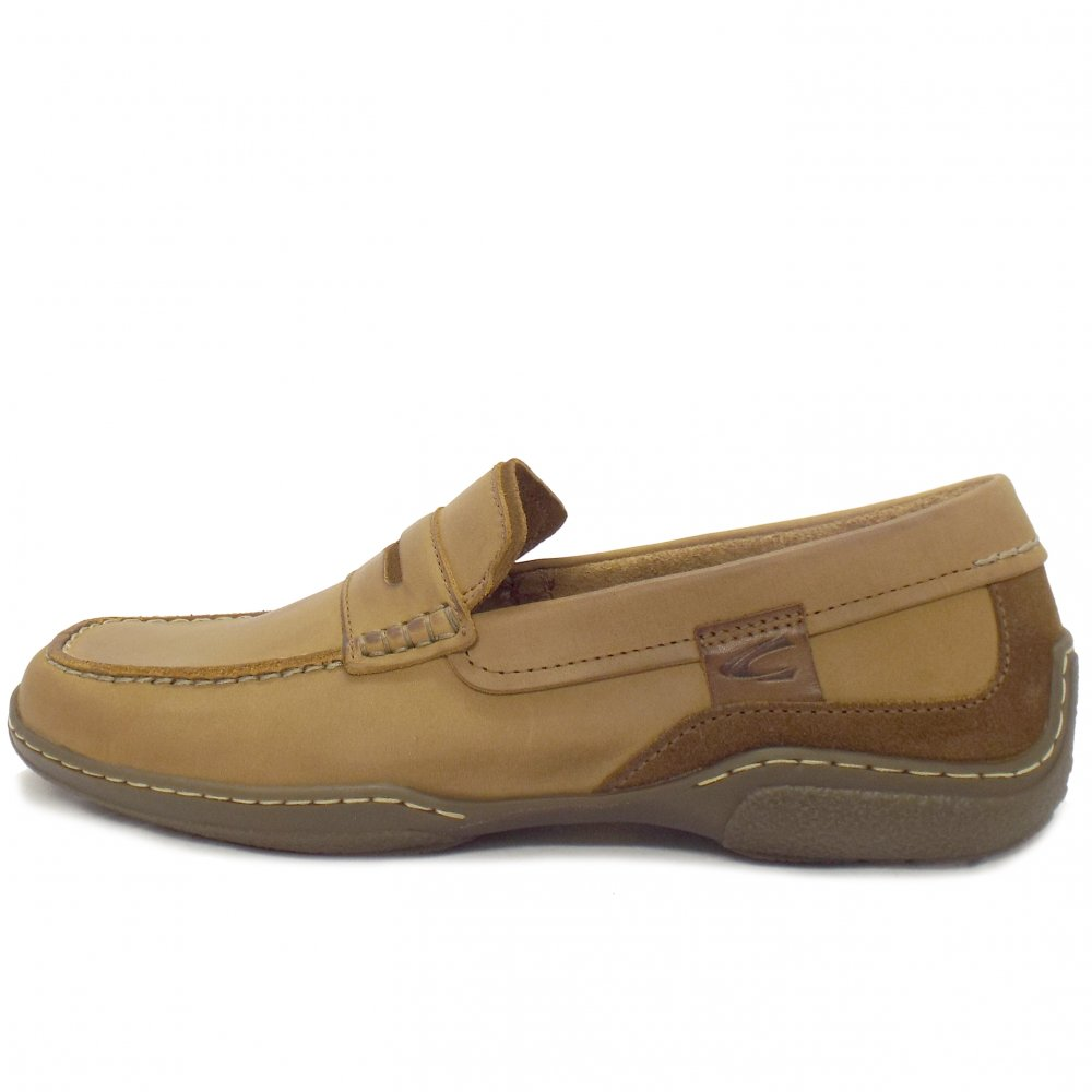 Camel Active Carlton Mens Casual Brown Leather Loafer