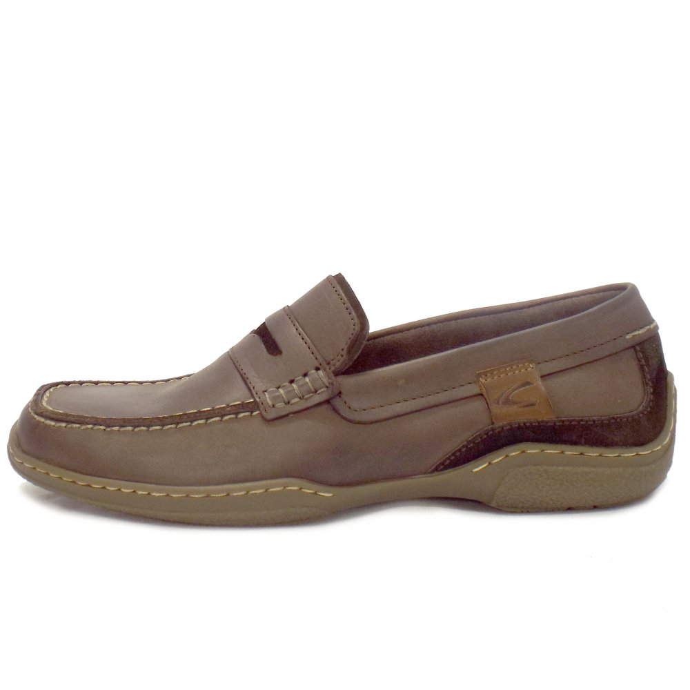Camel Active Sale   Carlton Mens Casual Brown Leather ...