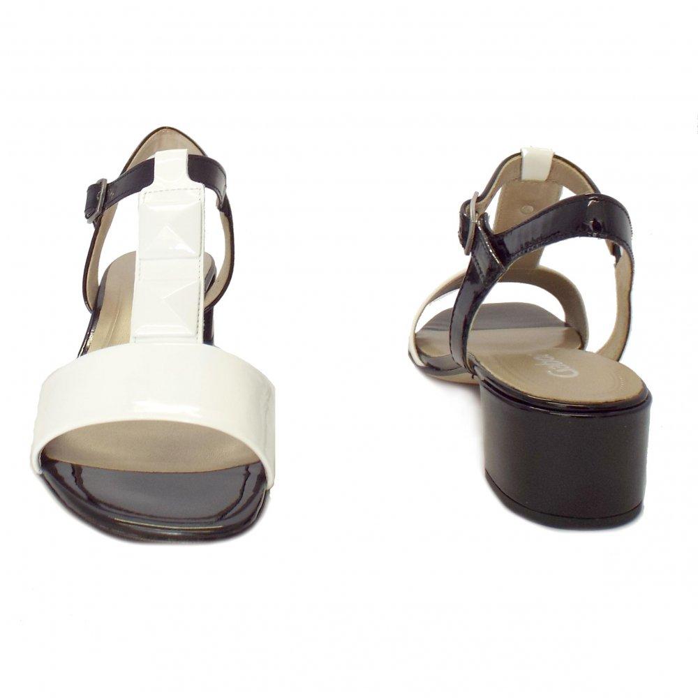 Low Heel Black Strappy Sandals