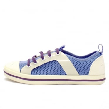 Garwood Lace Up Sporty Shoes in Blue