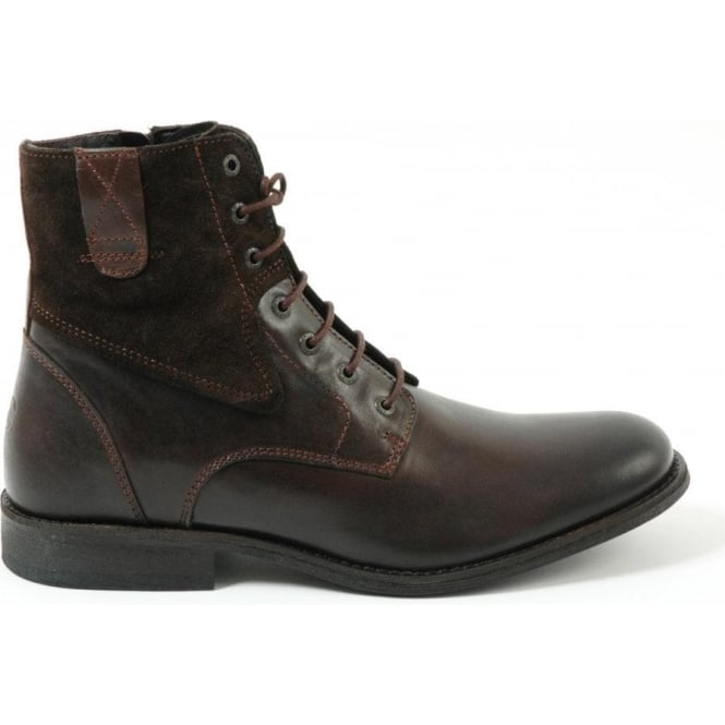 94d79c8362 Camel Active Camel Active Cecil men's smart lace-up boots in dark brown  305.12.01 Atlanta