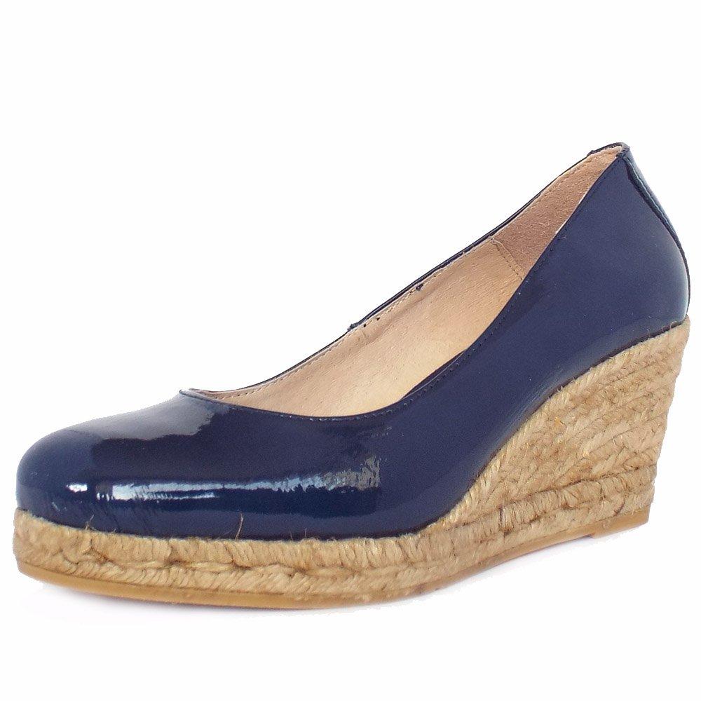 Vidorreta Celebration Blue   Eco-Friendly Espadrilles Shoe ...