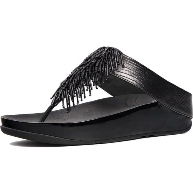 fbf4ce6cc Cha Cha™ Ladies Toe Post Sandal in Black