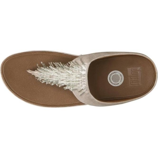 b8260ef9f3597 Cha Cha™ Ladies Toe Post Sandal in Silver