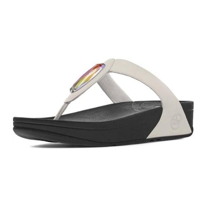 63fd60013493b5 Chada™ Toe Thong Sandals in Urban White