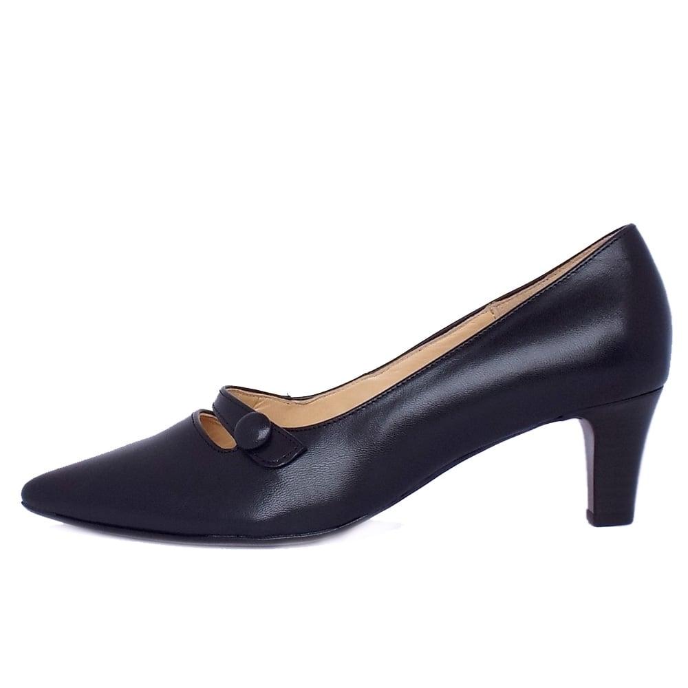 Kitten Heel Court Shoes Size