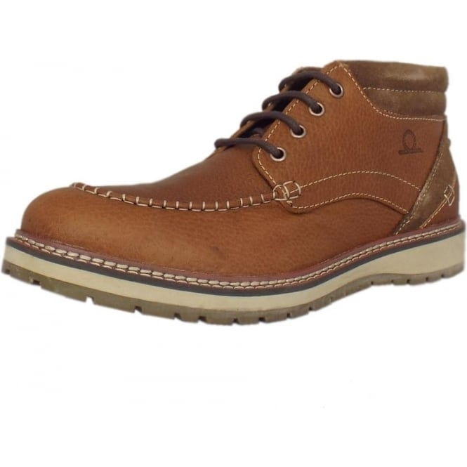 Chatham Marine Albion Men's Casual Lace Up Boots in Tan