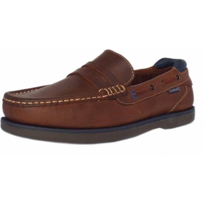 Balfour Made In Britain Men  039 s Slip On Leather Deck Shoe ... b4e3a1563