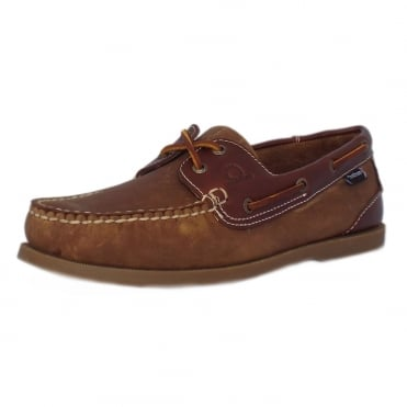 Bermuda II G2 Men's Classic Boat Shoe in Walnut