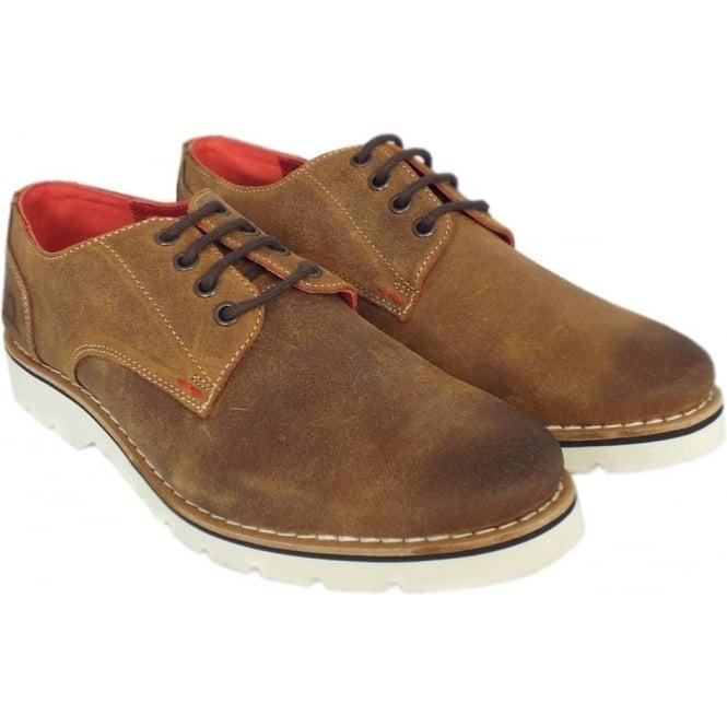 0143d04818bd4 Dexter Mens Smart-Casual Lace-Up Derby Shoe in Tan Suede
