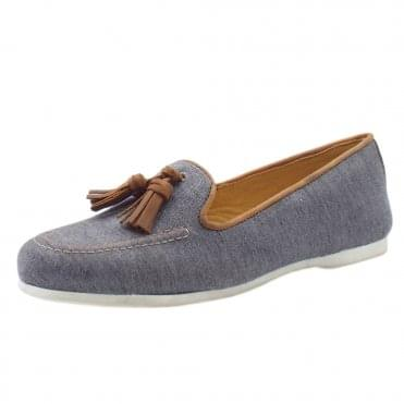 Eclipse Classic slip on Loafer in Navy
