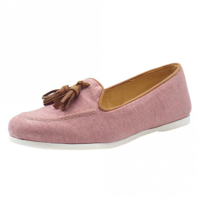 Chatham Marine Eclipse Classic slip on Loafer in Pink