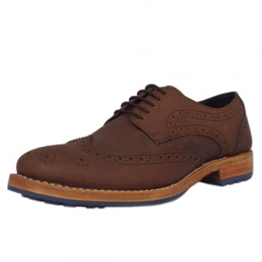 Eton Buckingham Men's Goodyear Welted Leather Brogues