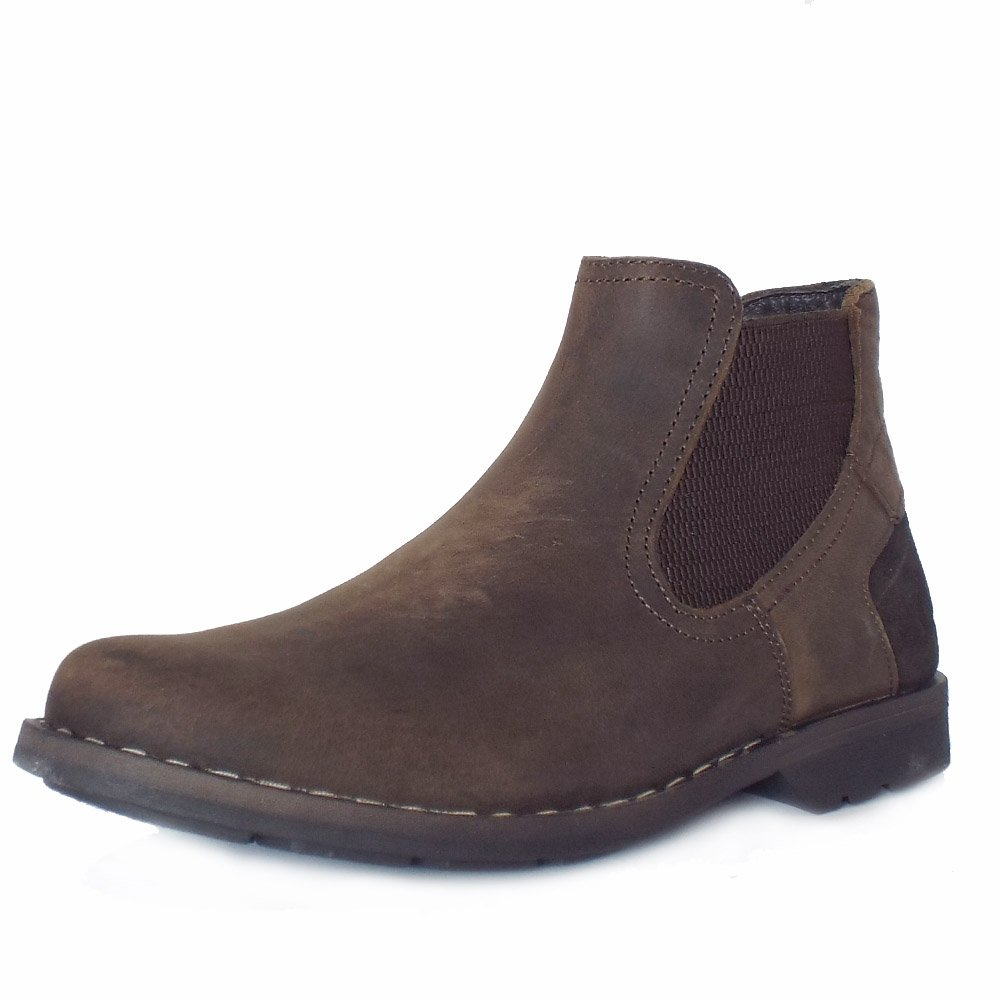 Chatham Life Mendip Brown Men S Winter Chelsea Boot Shearling Lining