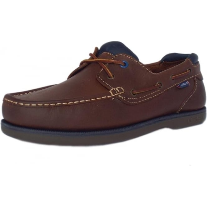 Pitt Made In Britain Men  039 s Lace Up Leather Deck Shoe ... 9b6a370cb
