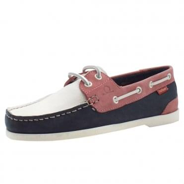 Willow Boat Shoe in Multi-colour