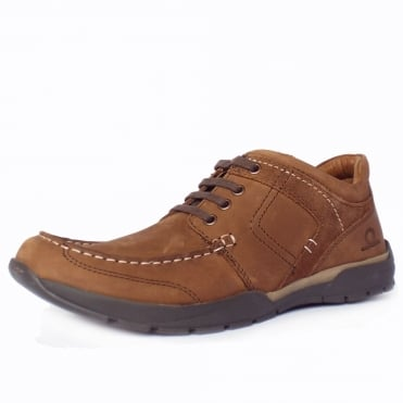 Wilson Men's Casual Shoes in Red Brown Nubuck