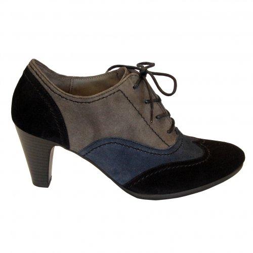 Navy Trouser Shoe Lace Up Women