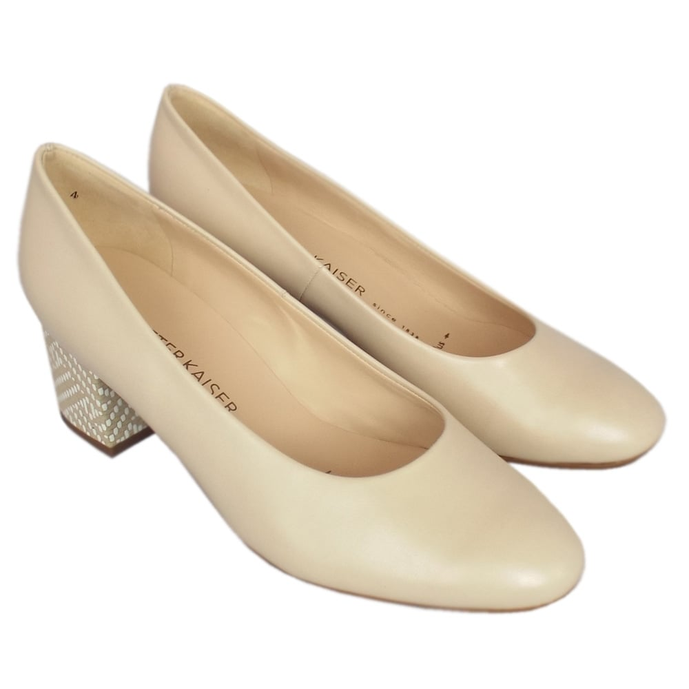 kaiser christin classic court shoes block