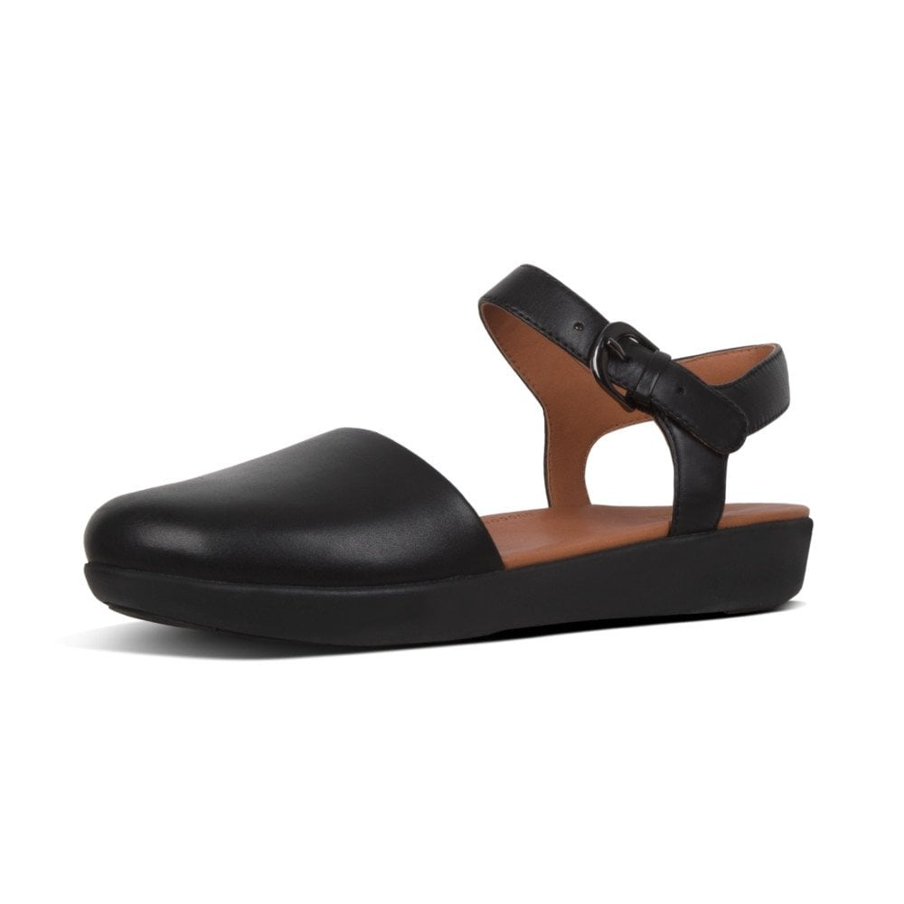 choose official 50% price real deal Cova™ II Leather Closed Toe Sandals in Black