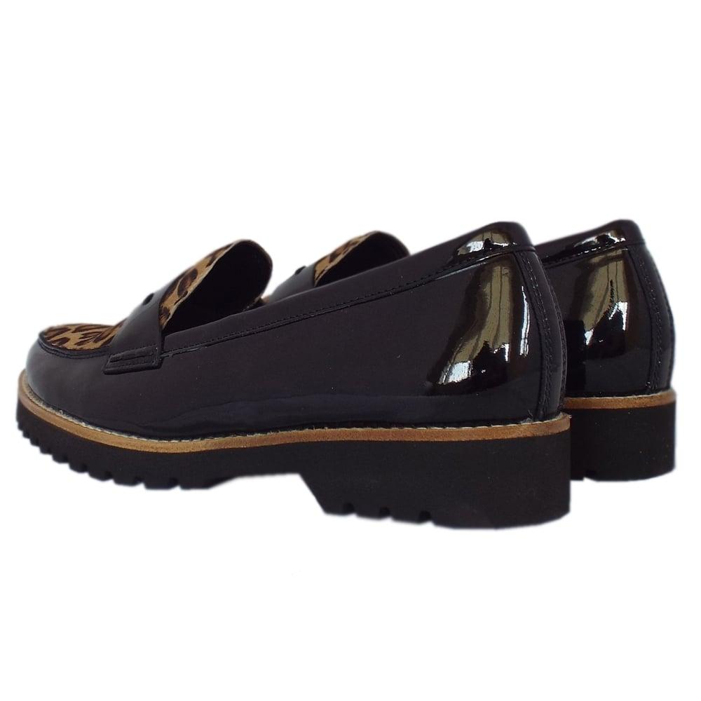 Gabor Black Patent Shoes