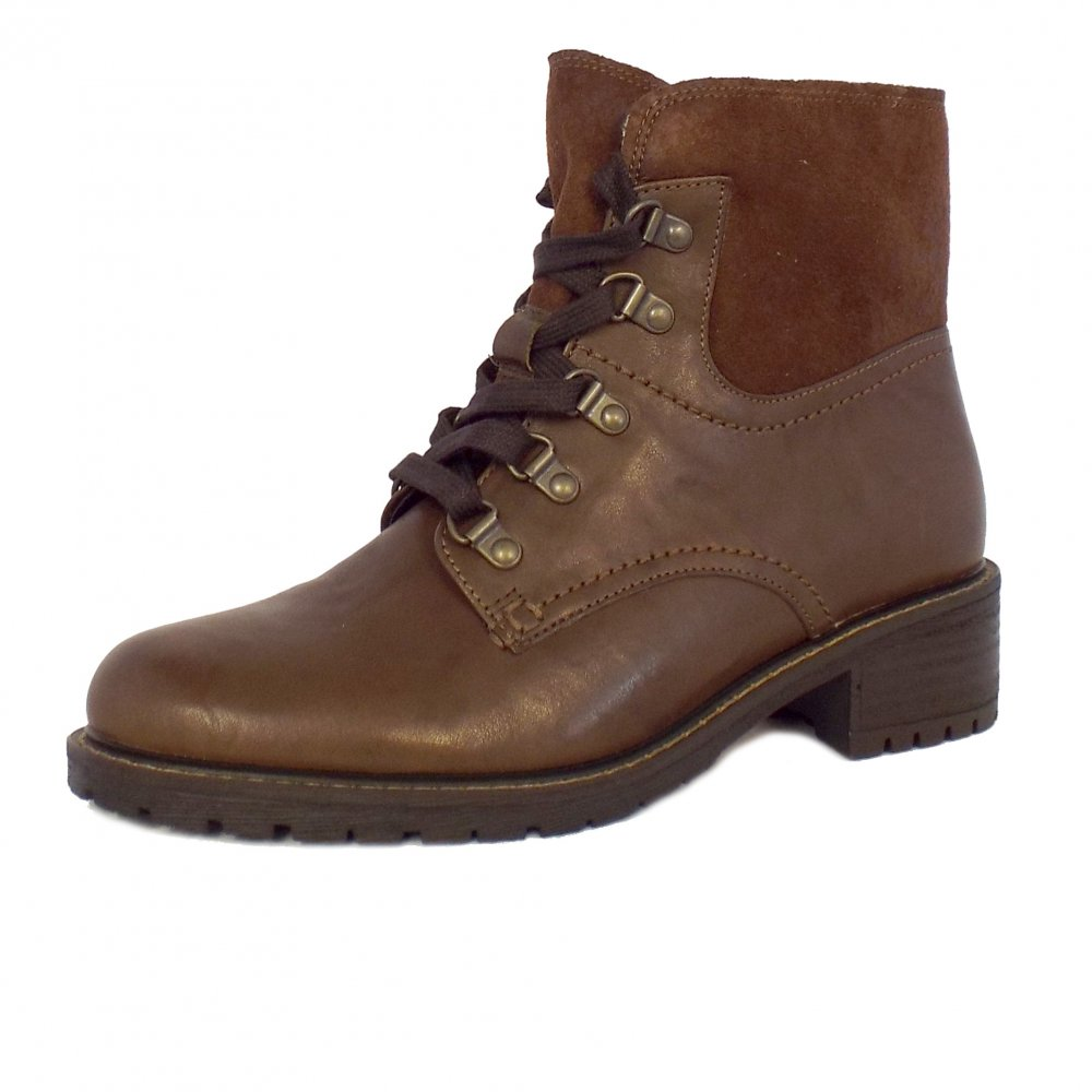 gabor cranleigh ankle boot in brown