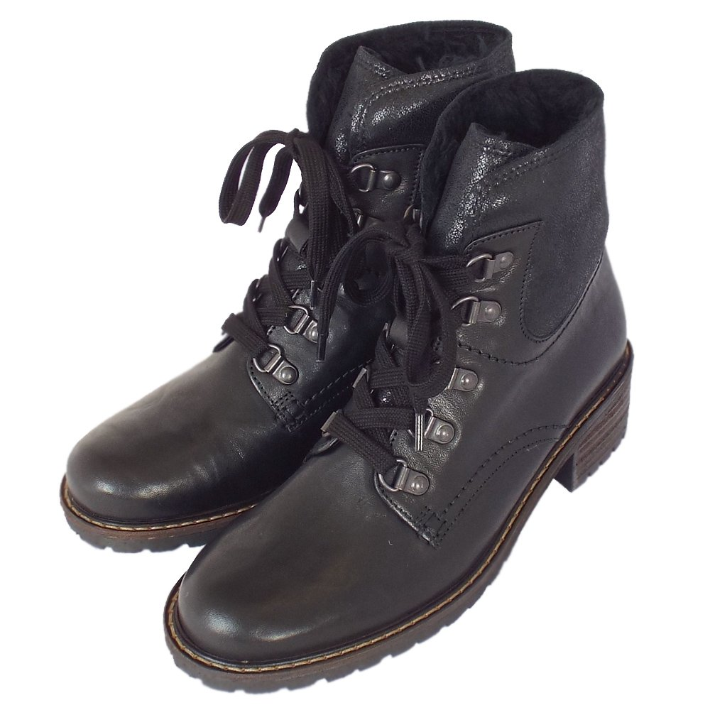 gabor cranleigh s wide fit winter ankle boots in