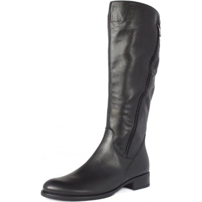 a78fceab11b Dawson Women  039 s Knee High Boots in Black Leather