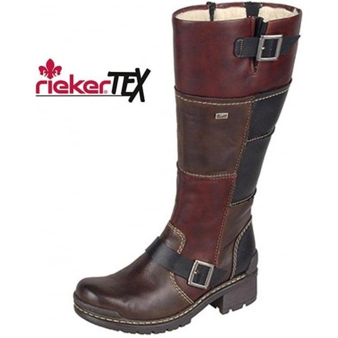 Stiefel & Stiefeletten Kleidung & Accessoires Ladies Rieker Mid Calf Boots 74382