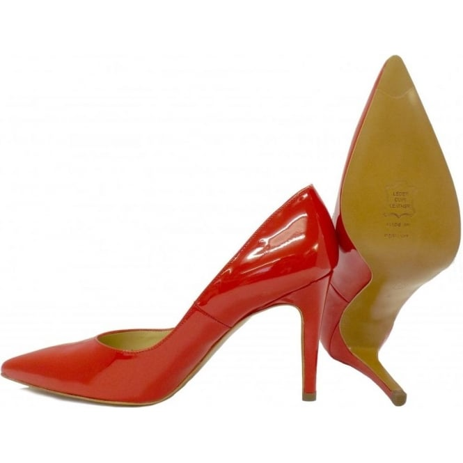 Peter Kaiser Dione | Red Patent Leather Ladies Stiletto Shoes | Mozimo