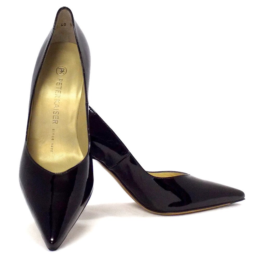 Black Patent High Heel Pumps