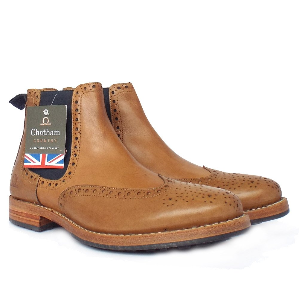 chatham country dudley s pull on chelsea boots in