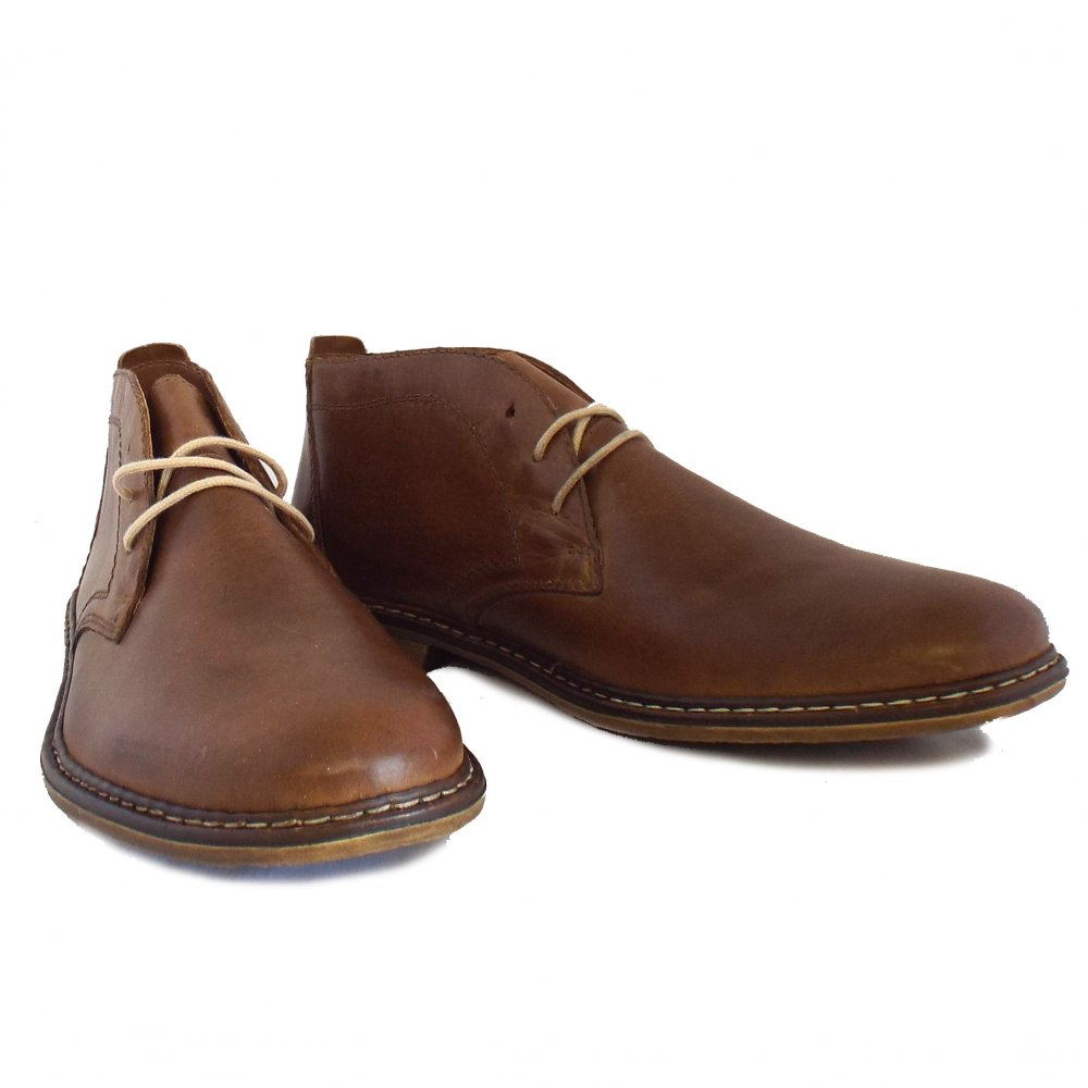 rieker boots mens brown leather desert boots mozimo
