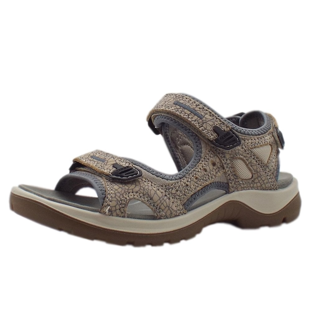 bf358dc4fe1f3 Ecco Offroad | Women's Trekking Sandals Nude Leather | Mozimo