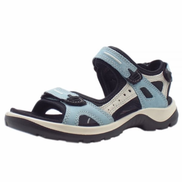 classcic diverse styles hot-selling clearance ECCO 069563 Offroad Women's Trekking Sandals in Sky Blue