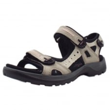 069563 Offroad Women's Trekking Sandals in Stone