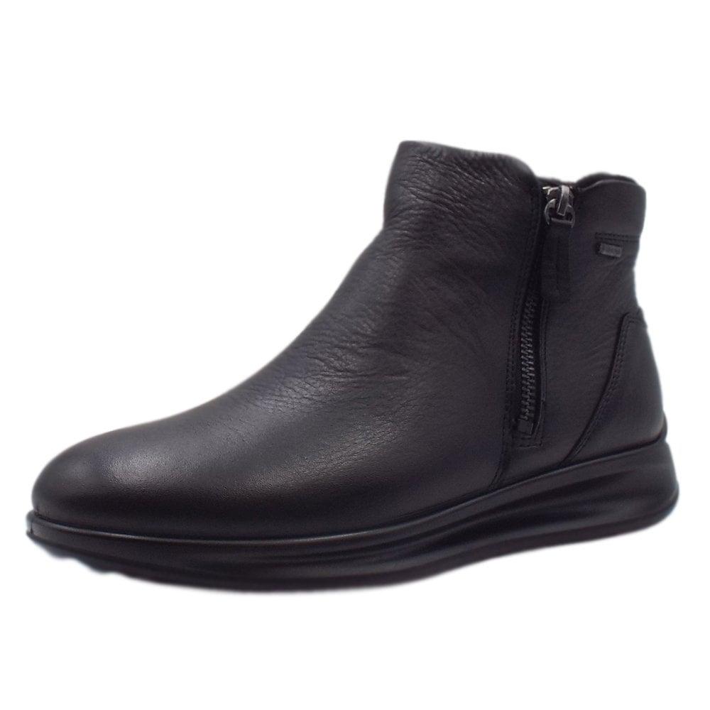 09f77f9a44f Ecco Aquet 207083 | Women's Short Winter Gore-Tex Boots Black | Mozimo