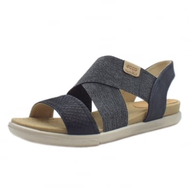 248223 Damara Comfortable Ladies Sandals in Blue