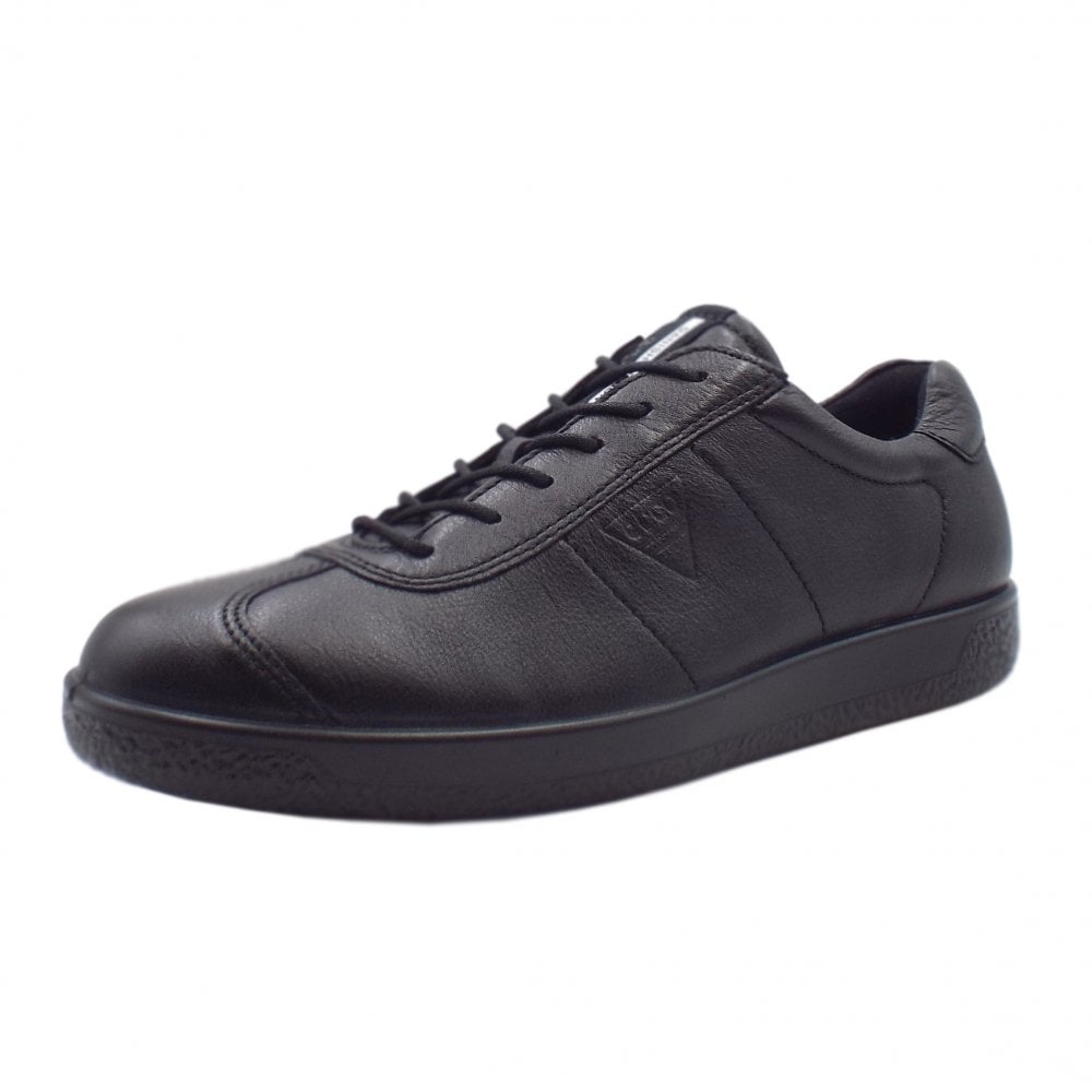 5fb500cee7 400514 Soft 1 Men's Smart Lace-up Sneakers in Black