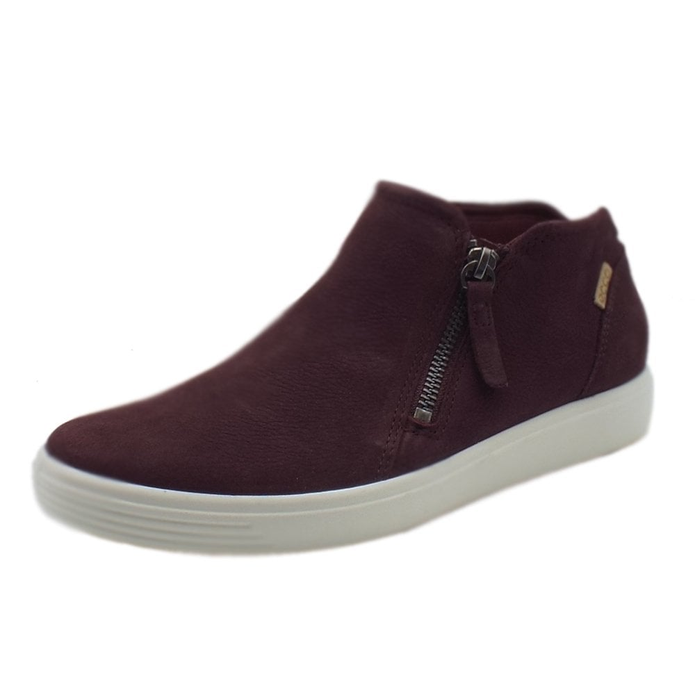 1185604557 430243 Soft 7 Ladies Zip Boot in Bordeaux